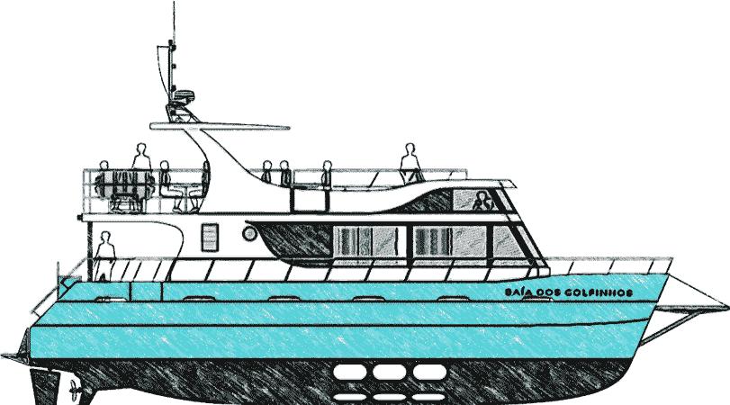 Barco - Baía dos Golfinhos