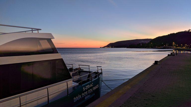Baía dos Golfinhos sunset
